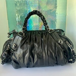 Gucci Leather Galaxy Large Limited Satchel